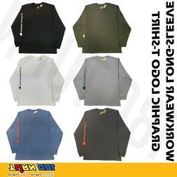 Carhartt K231 Men's Long Sleeve T-Shirt Signature Sleeve Gra