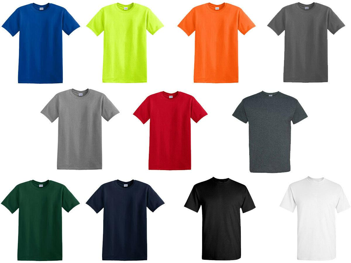 Sleeve Mix Colors T Shirts Assorted Mix