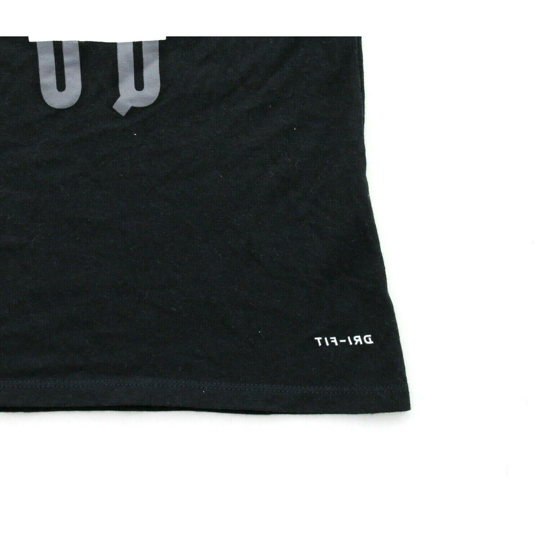 Nike 561423 Women's Do It Don't Quit Athletic T- Shirt, Black