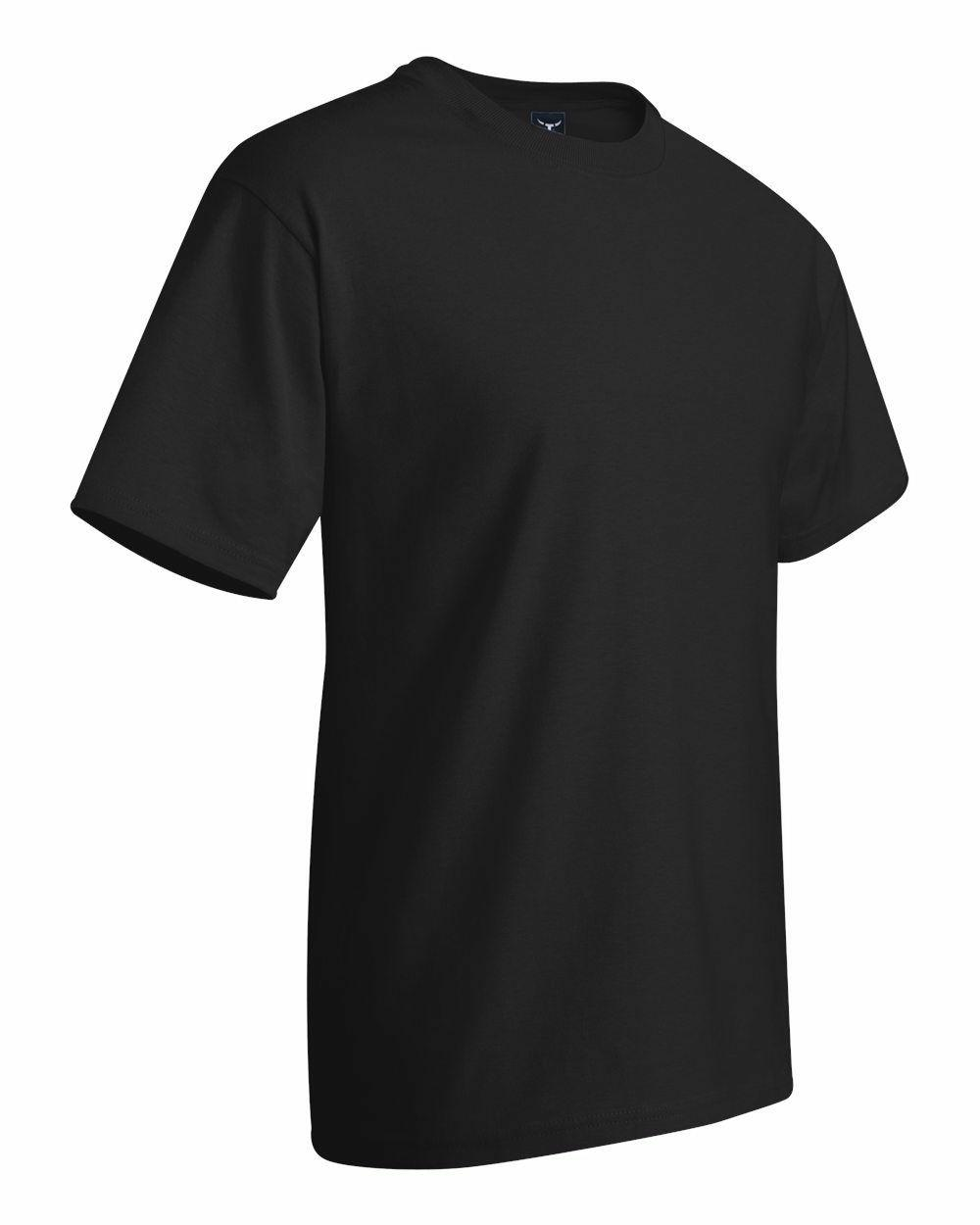 Hanes Cotton Crew Neck Adult T-Shirt 5180
