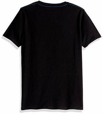 Calvin Boys' Crew Tee Shirt, Black,,
