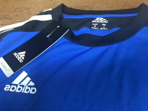 Boys Blue Black Athletic T-shirt Large 14-16 Tee