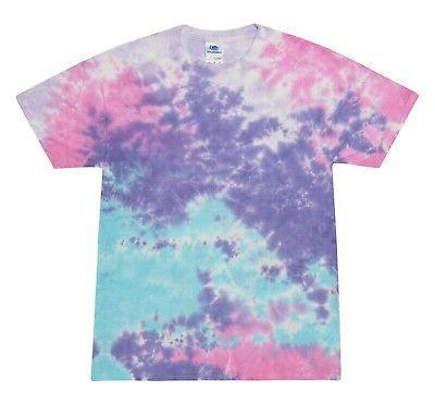 cotton candy tie dye t shirts s