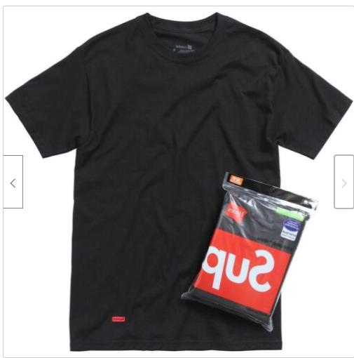 Supreme Hanes Tagless and Authentic