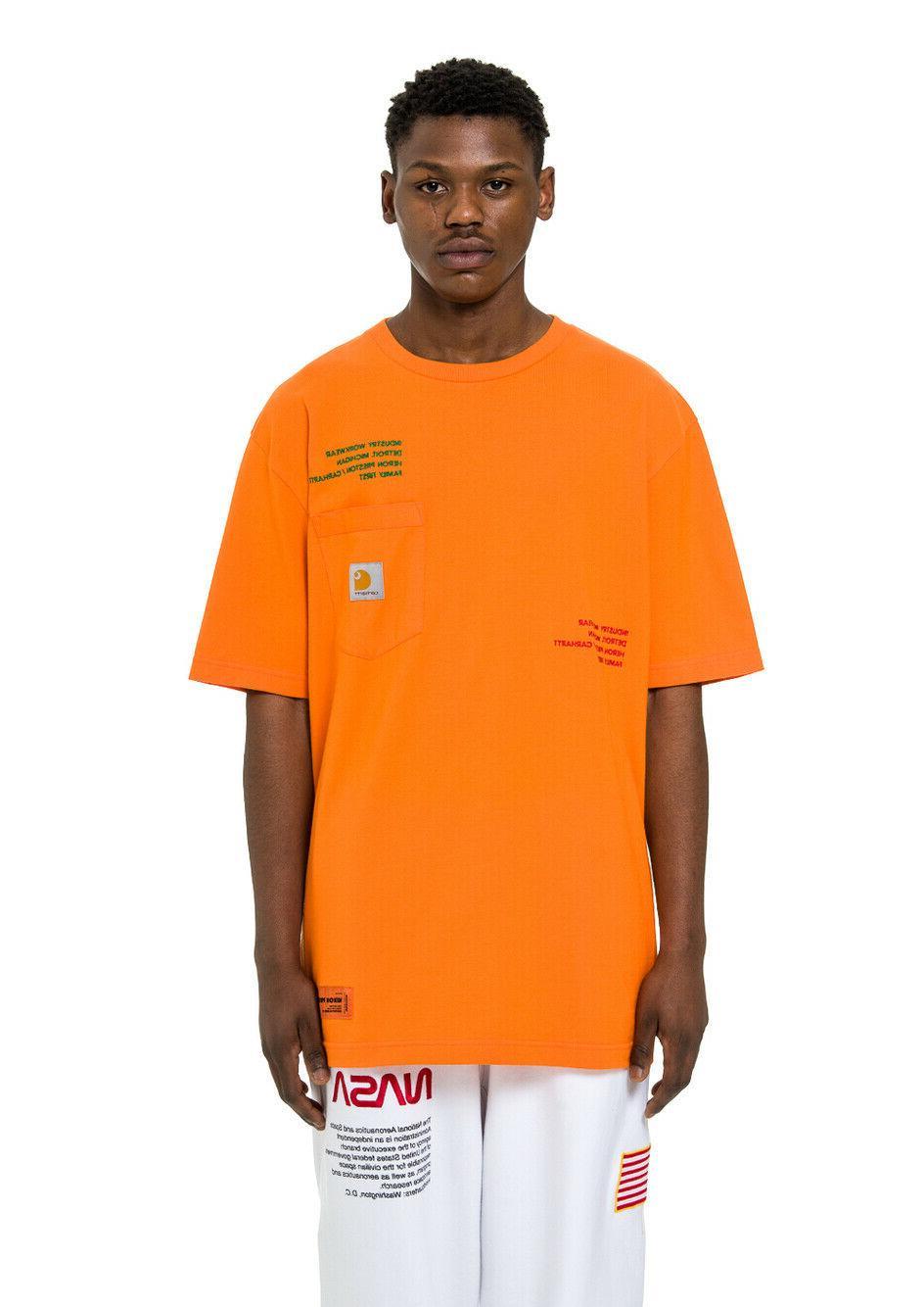 HOT Mens Summer Heron preston 19ss X sleeve
