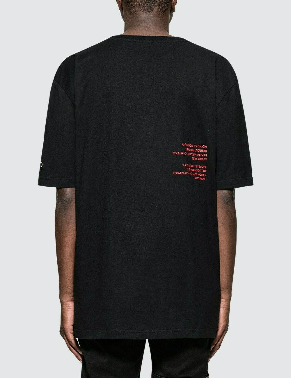 HOT Mens Heron 19ss X CARHARTT Short sleeve t-shirt