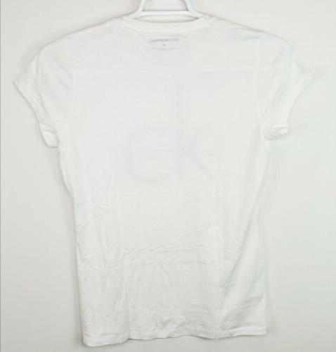 Calvin Klein Women's Cotton Big Logo Graphic T-Shirt M