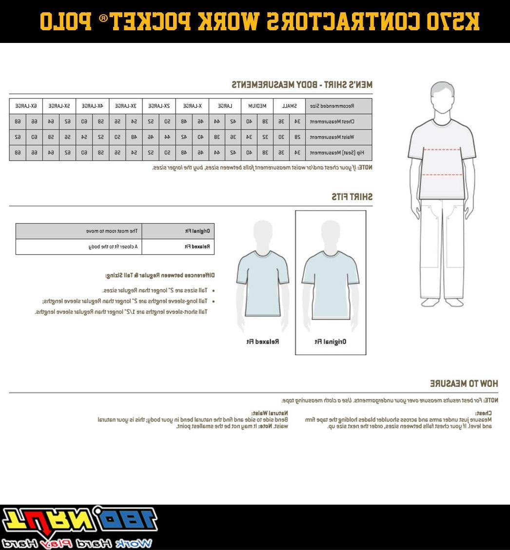 Carhartt Mens Long-Sleeve Pocket T Shirt Heavyweight M-4XL