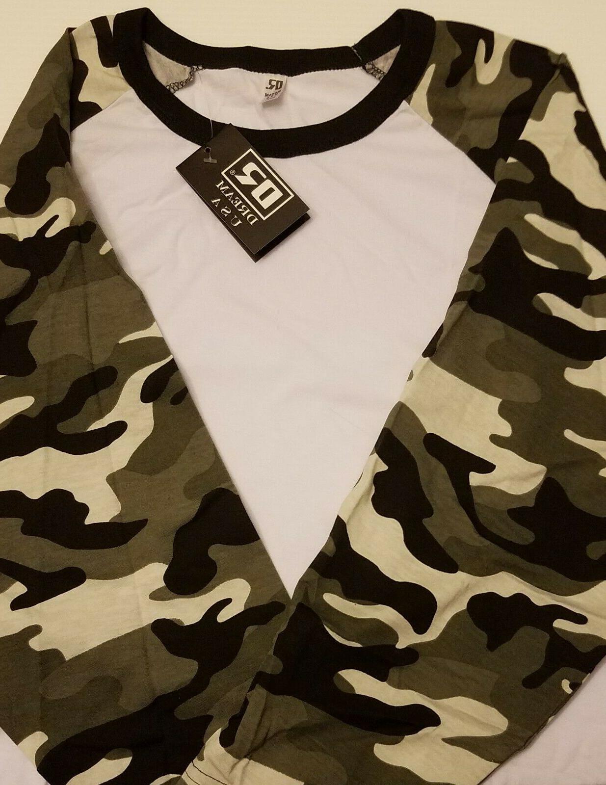 Men's DREAM T-Shirt CAMO 2XL
