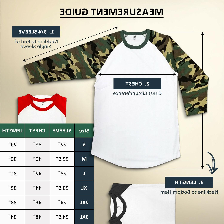 Dream Men's 3/4 Baseball Tshirt Raglan
