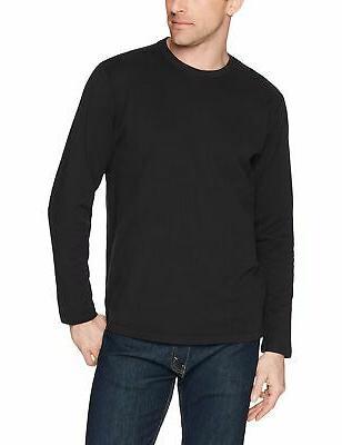 Amazon Men's Long-Sleeve Black