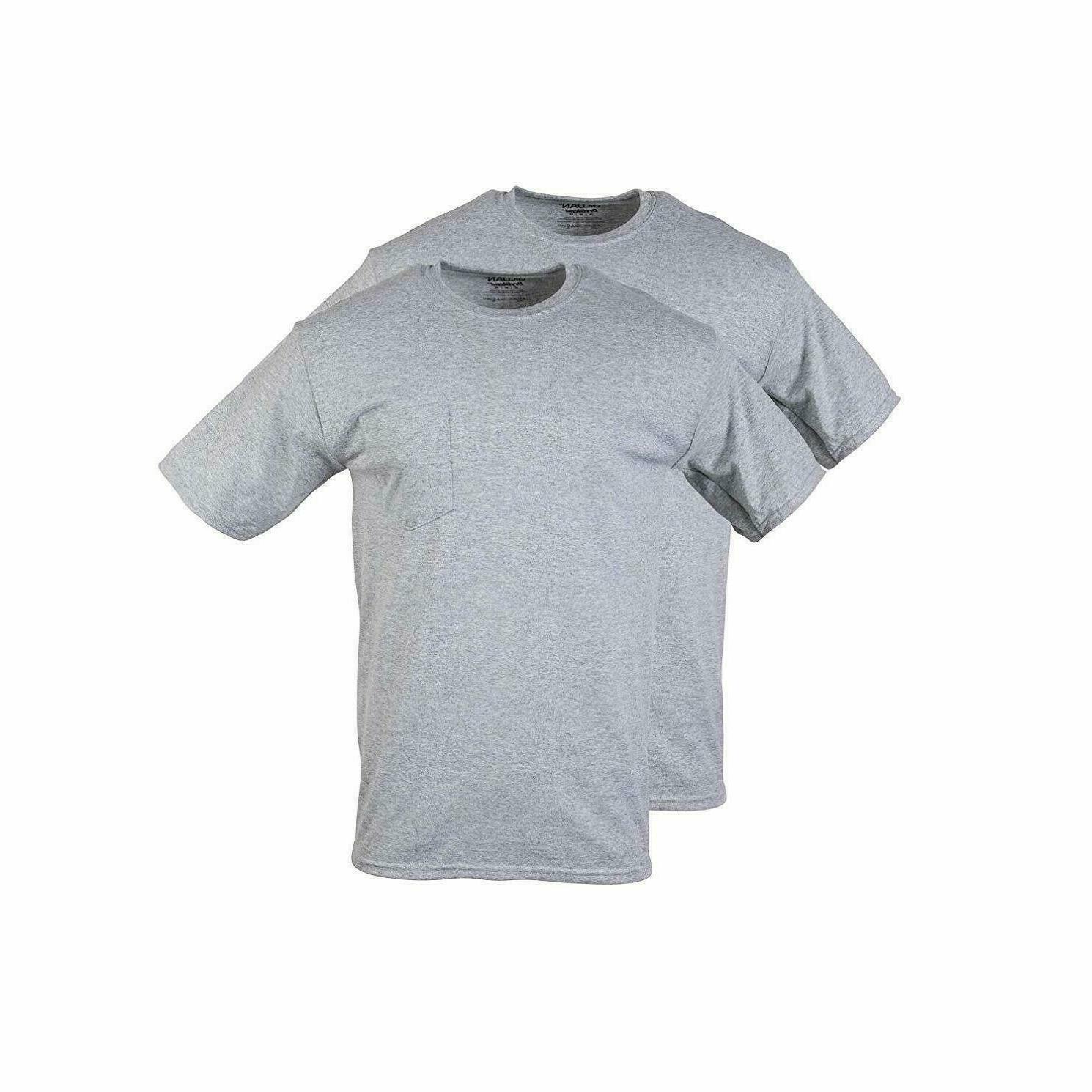 Gildan Men's T-Shirts WorkWear Tall Sizes 2-Pack J5-12