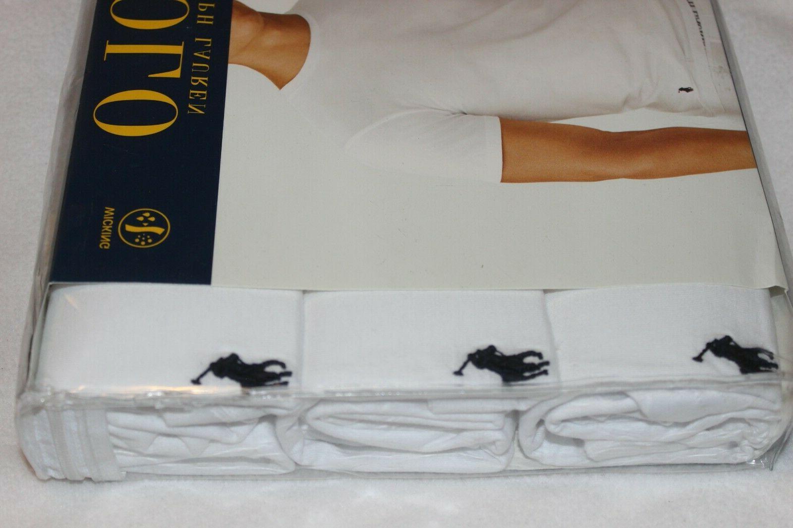 Polo Ralph White 3-Pack S,M,L,XL