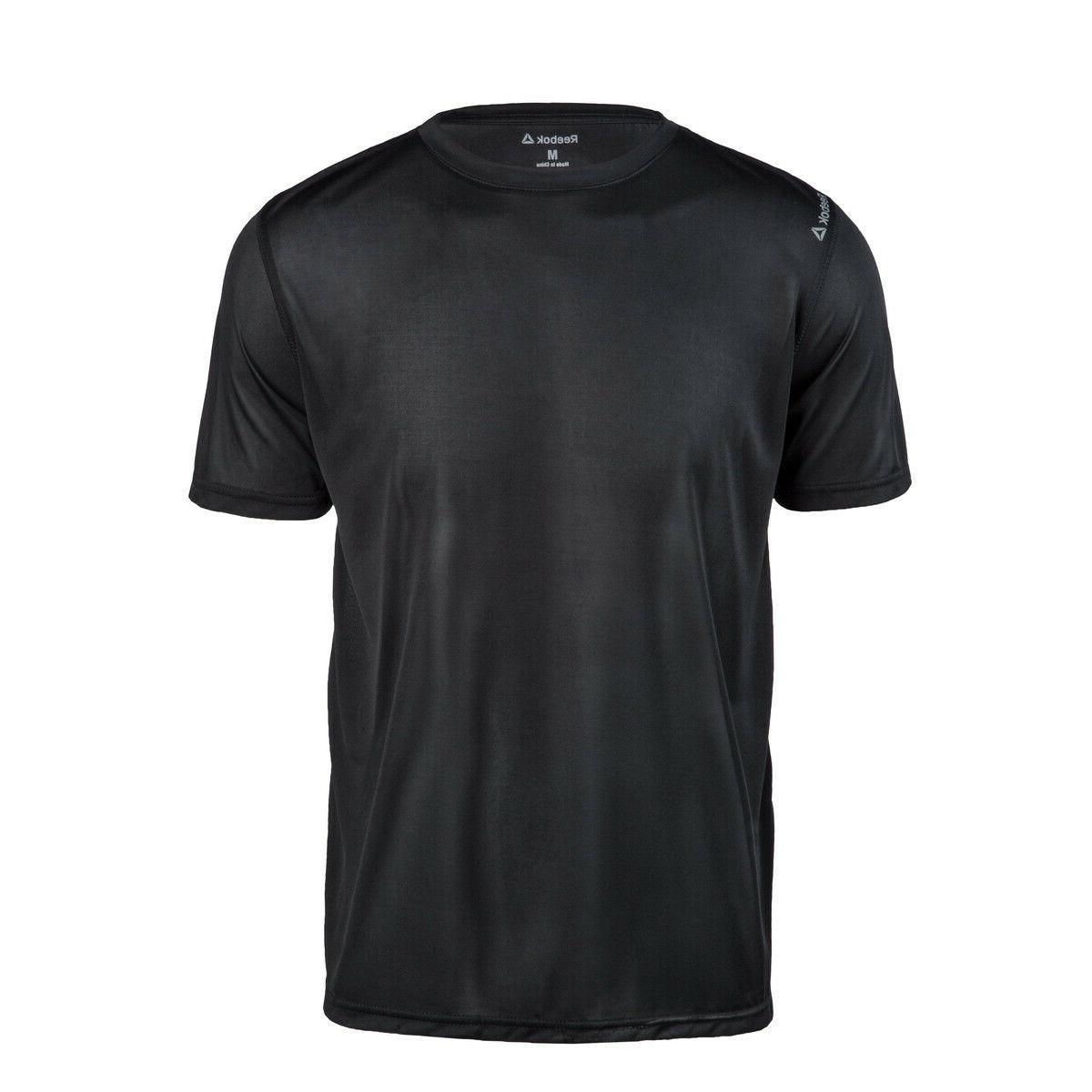 Reebok Mens dri-fit T-shirt Gym S-3XL, 4XL Sport Tee