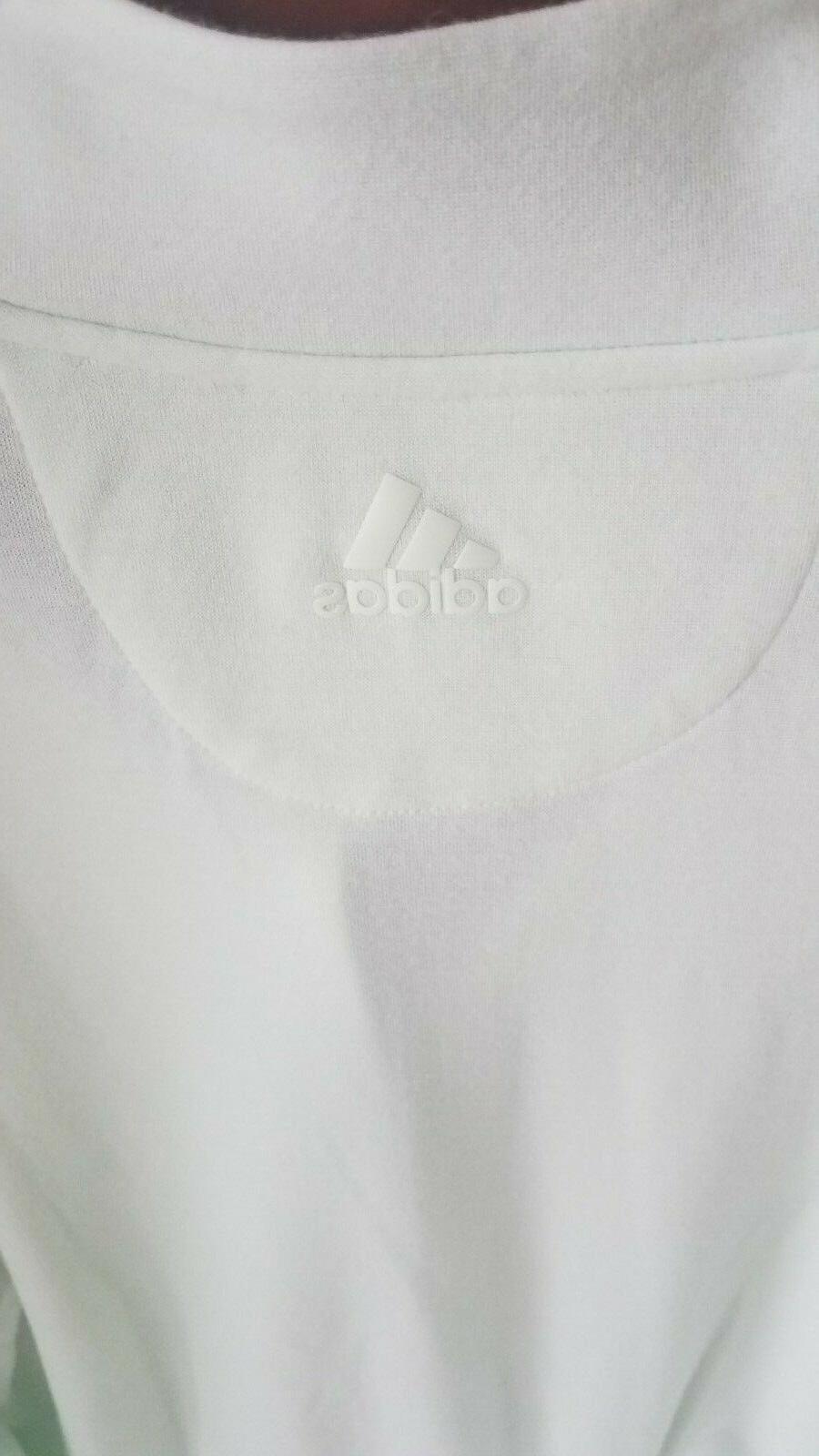 adidas Mens Wool 1/4 Zip CW5029 L