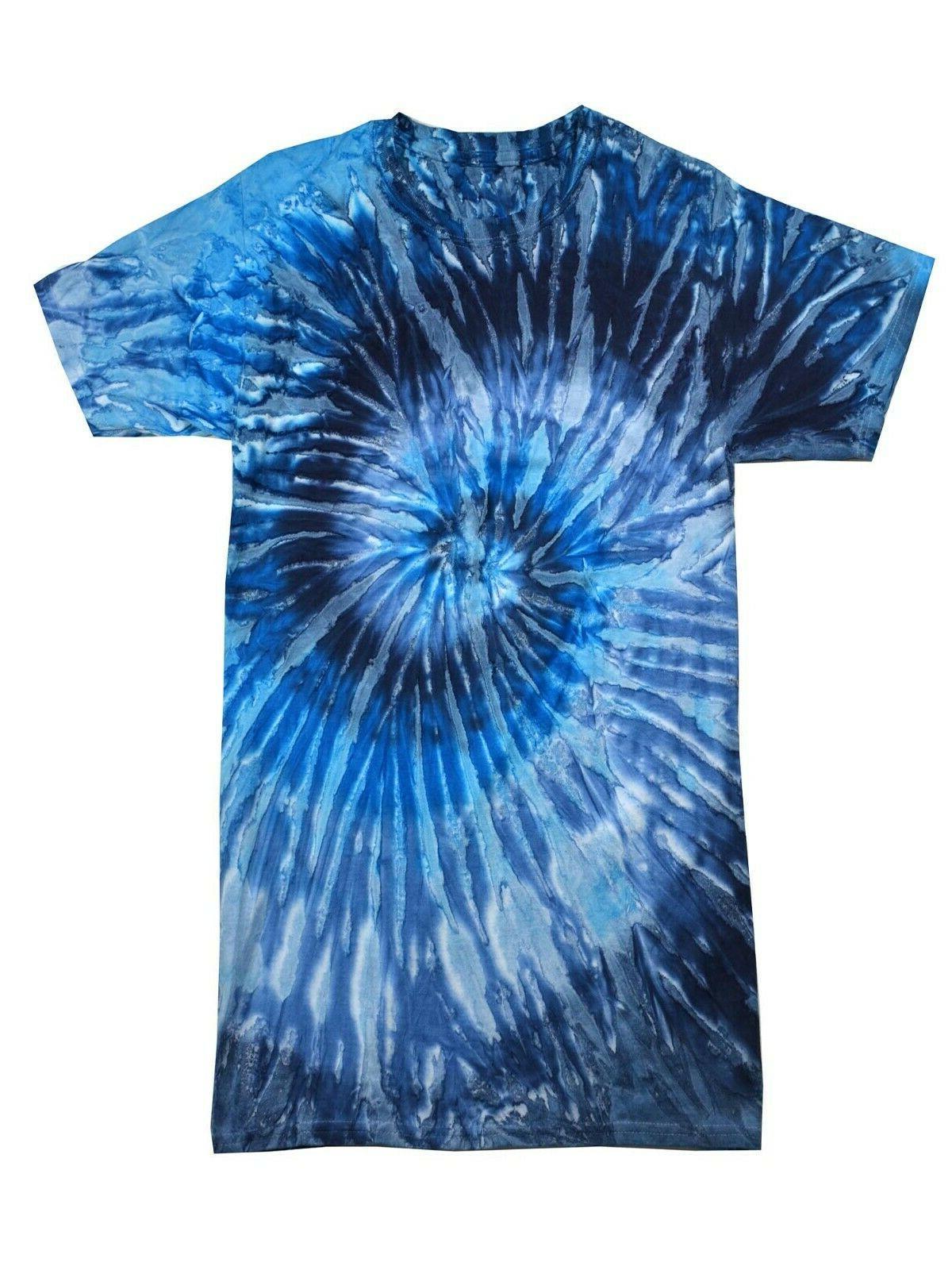Multi-Color Tie Dye Adult M XL 3XL 5XL, 100%