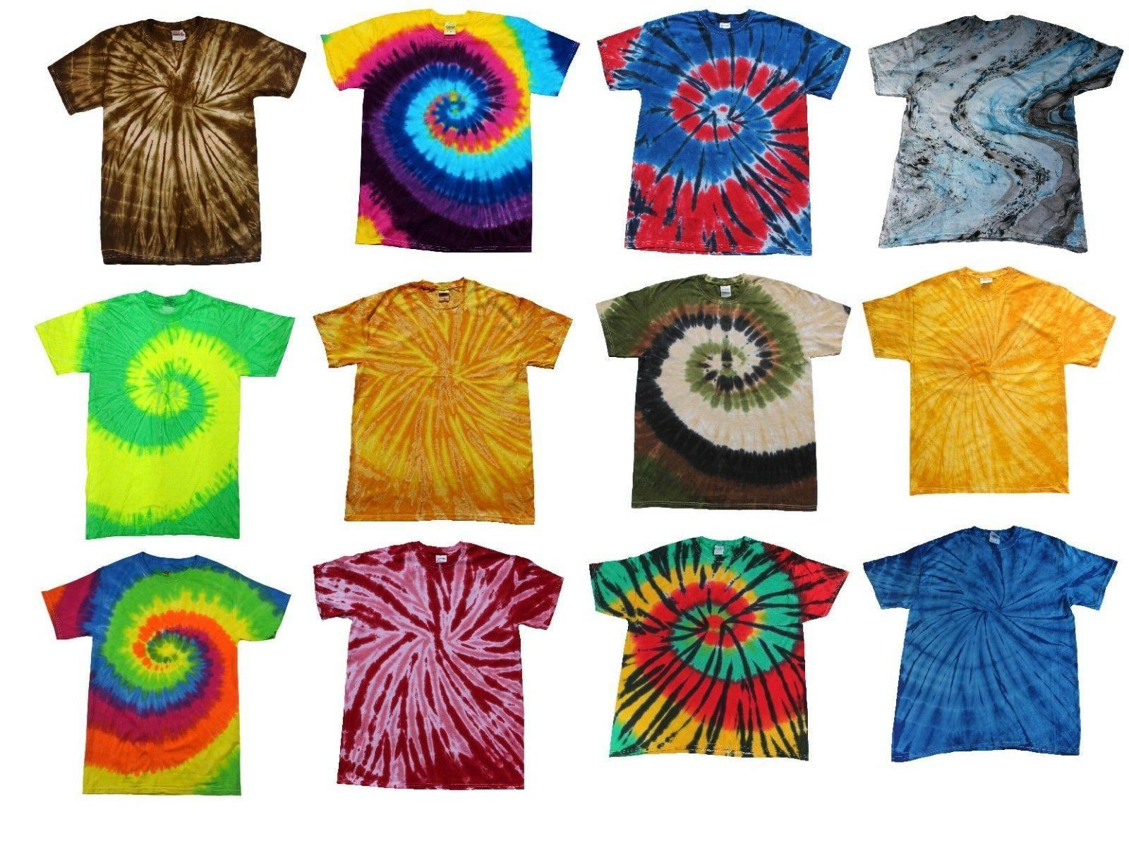 multi color tie dye t shirts kids