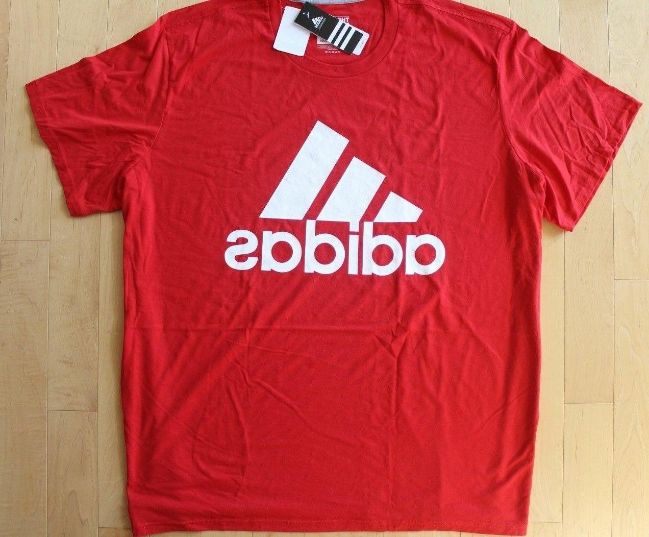 NWT & TALL Climalite Athletic T-Shirt RED