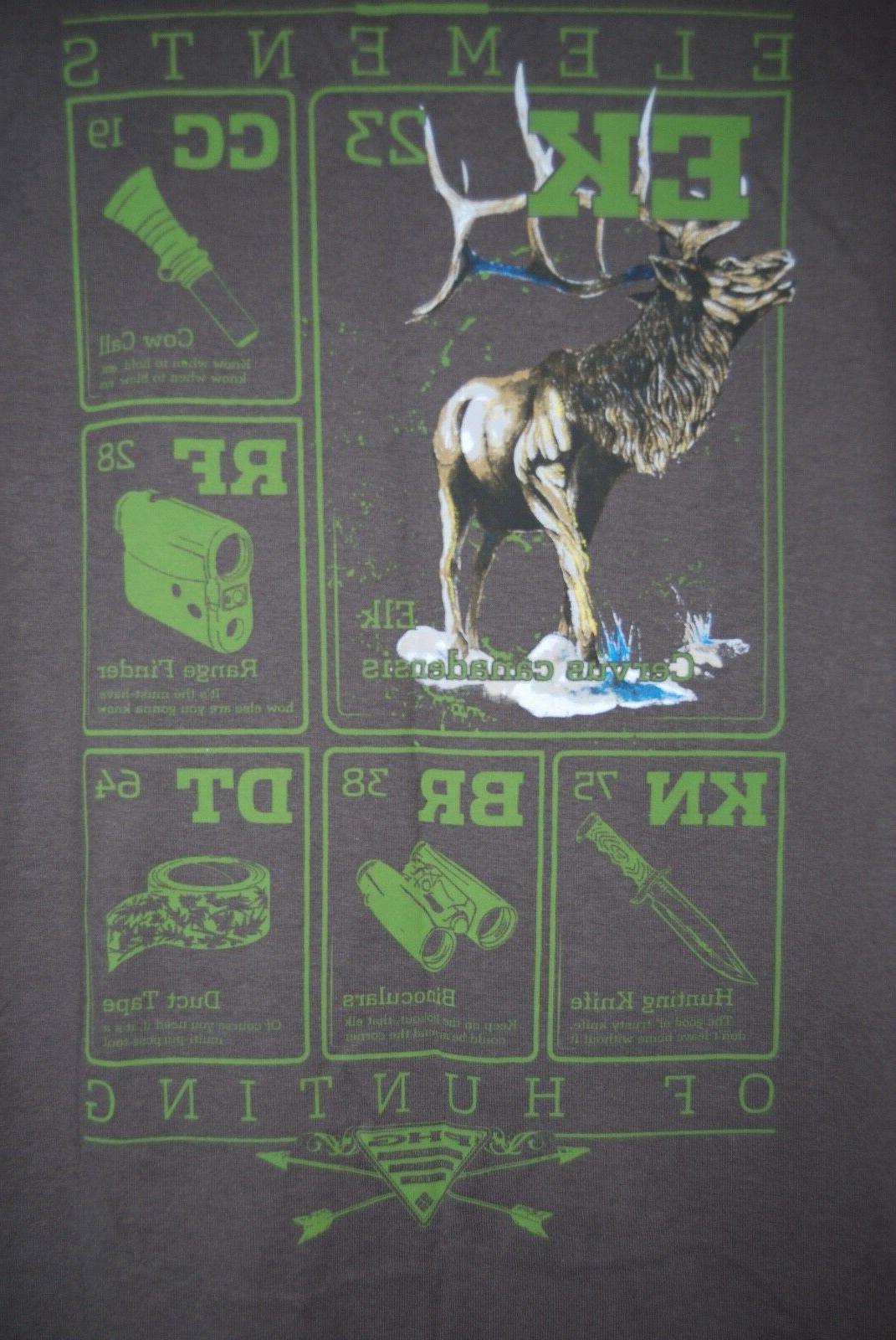 NWT Columbia PHG Big & Brown Elk Hunting T-Shirt