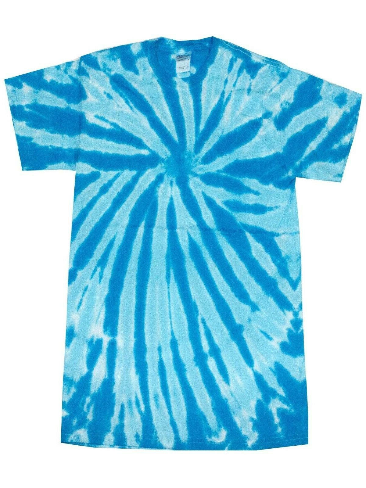 Pick a Blue Tie Dye T-Shirts M L XL 3XL 5XL