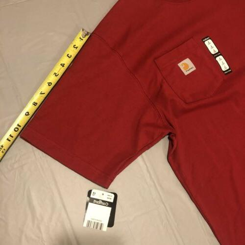 Carhartt Red Pocket Shirt Large