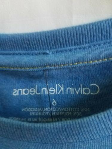 T-SHIRT BLUE WITH TAG