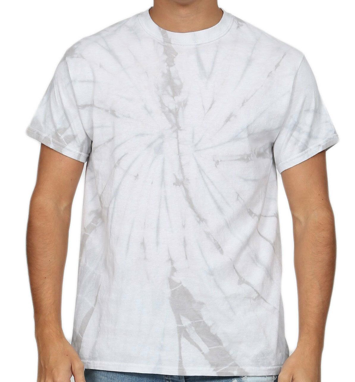 T-Shirts Plain Colors Tie Dye Kids and Adult Colortone Cotton 5.3
