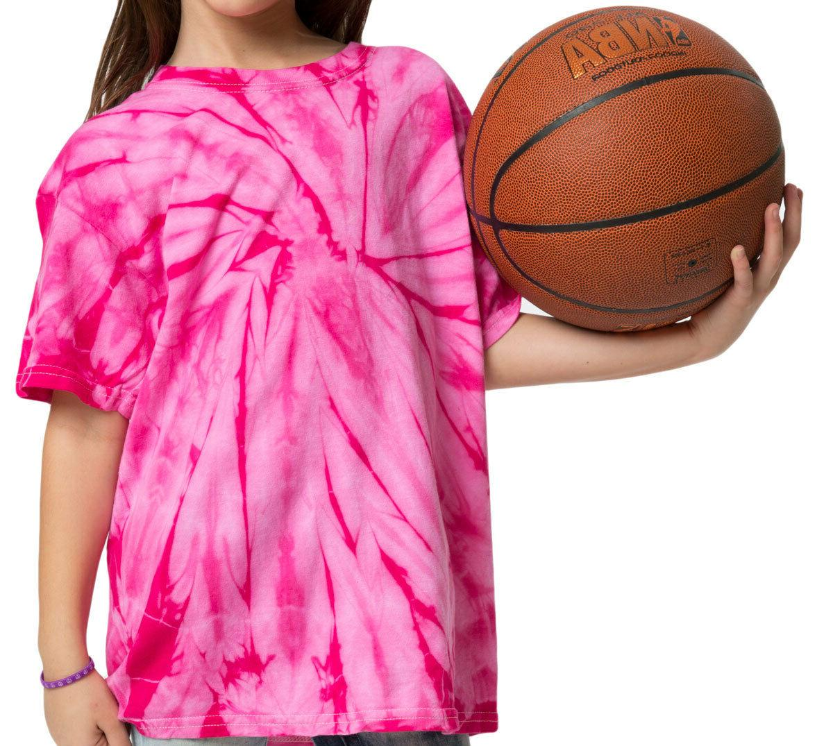 T-Shirts Colors Tie Dye Kids Adult Colortone 100% 5.3