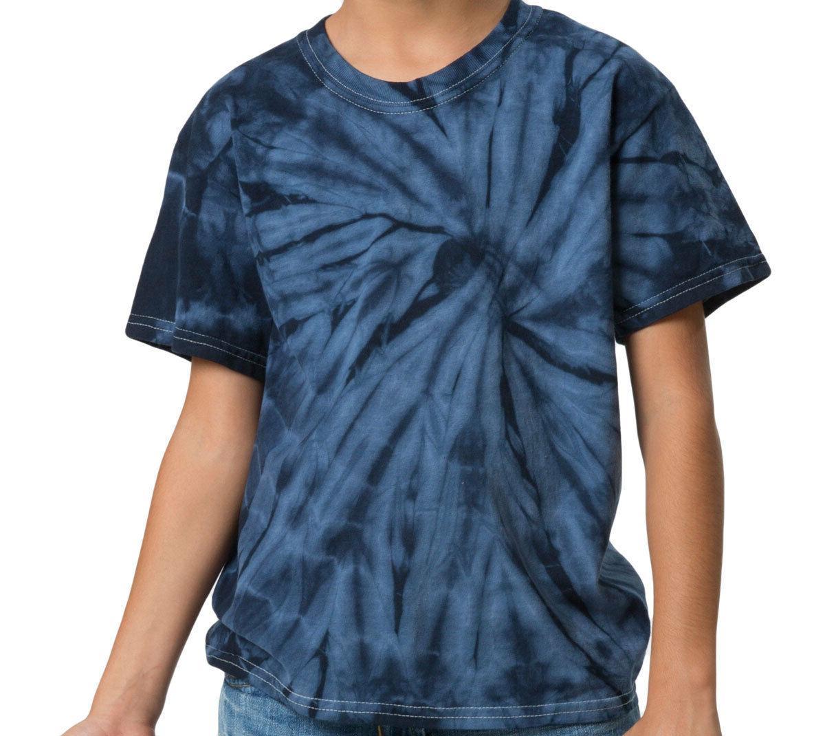 T-Shirts Tie Dye Kids Adult Colortone Cotton 5.3 Oz