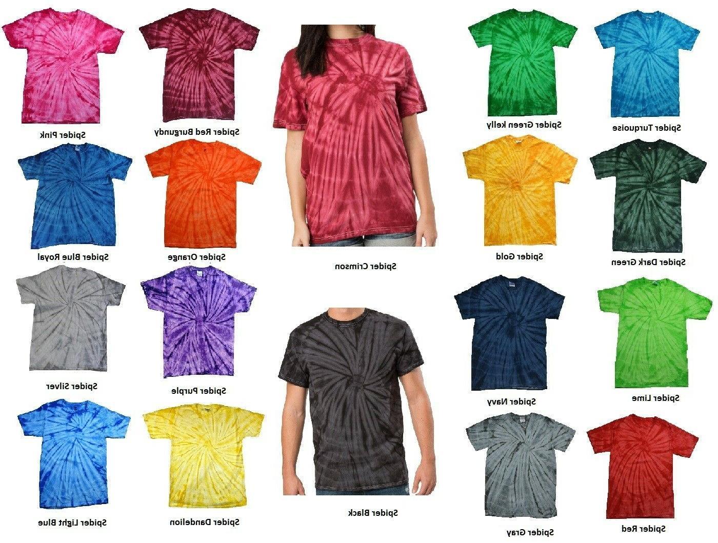 t shirts plain colors tie dye style