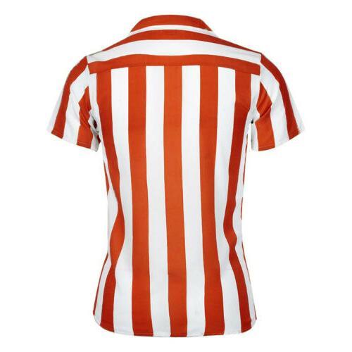 USA Shirts Fit Short Sleeve Dress T