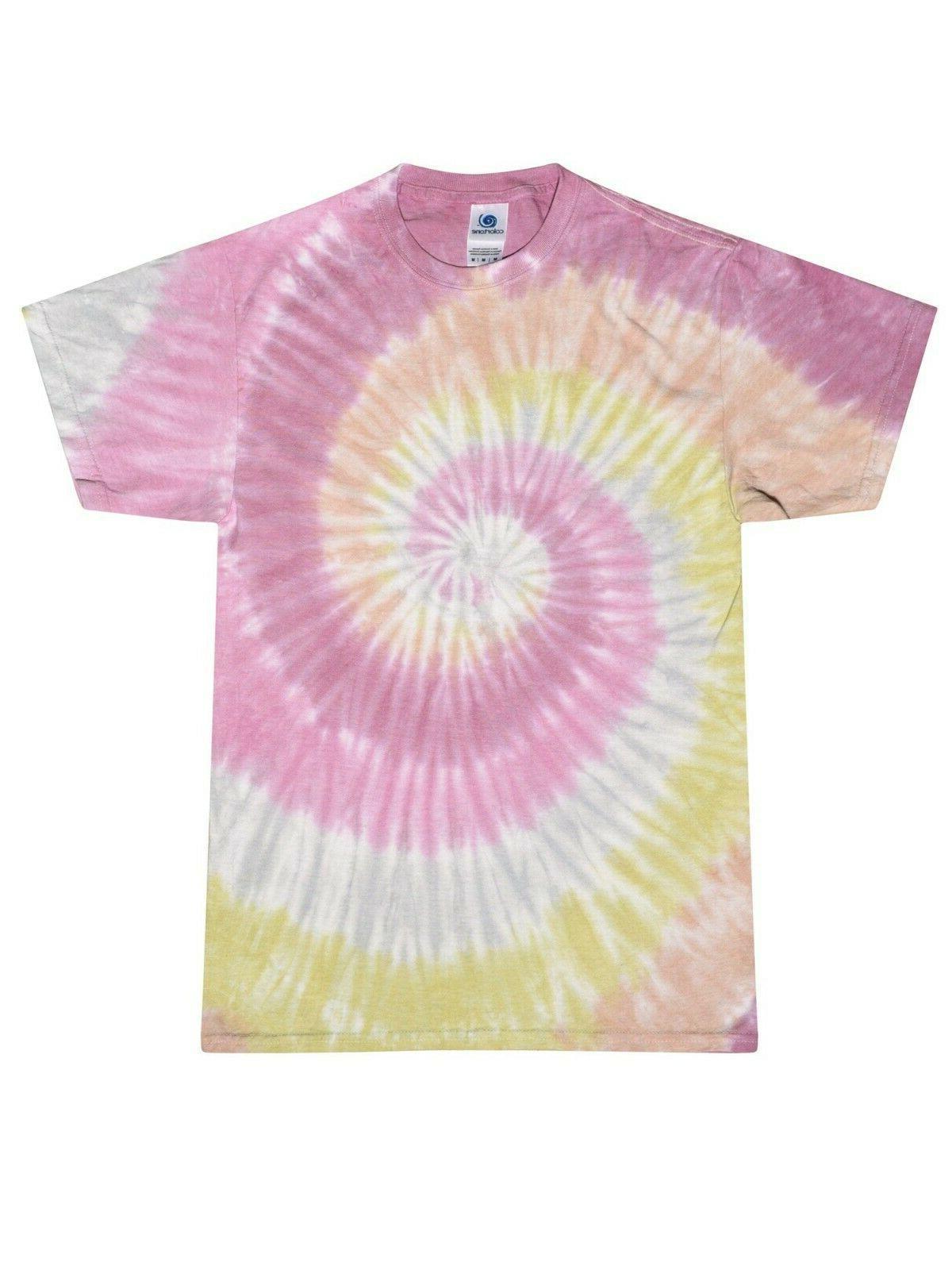 Vibrant T-Shirts Adult XXXXXL Cotton Colortone