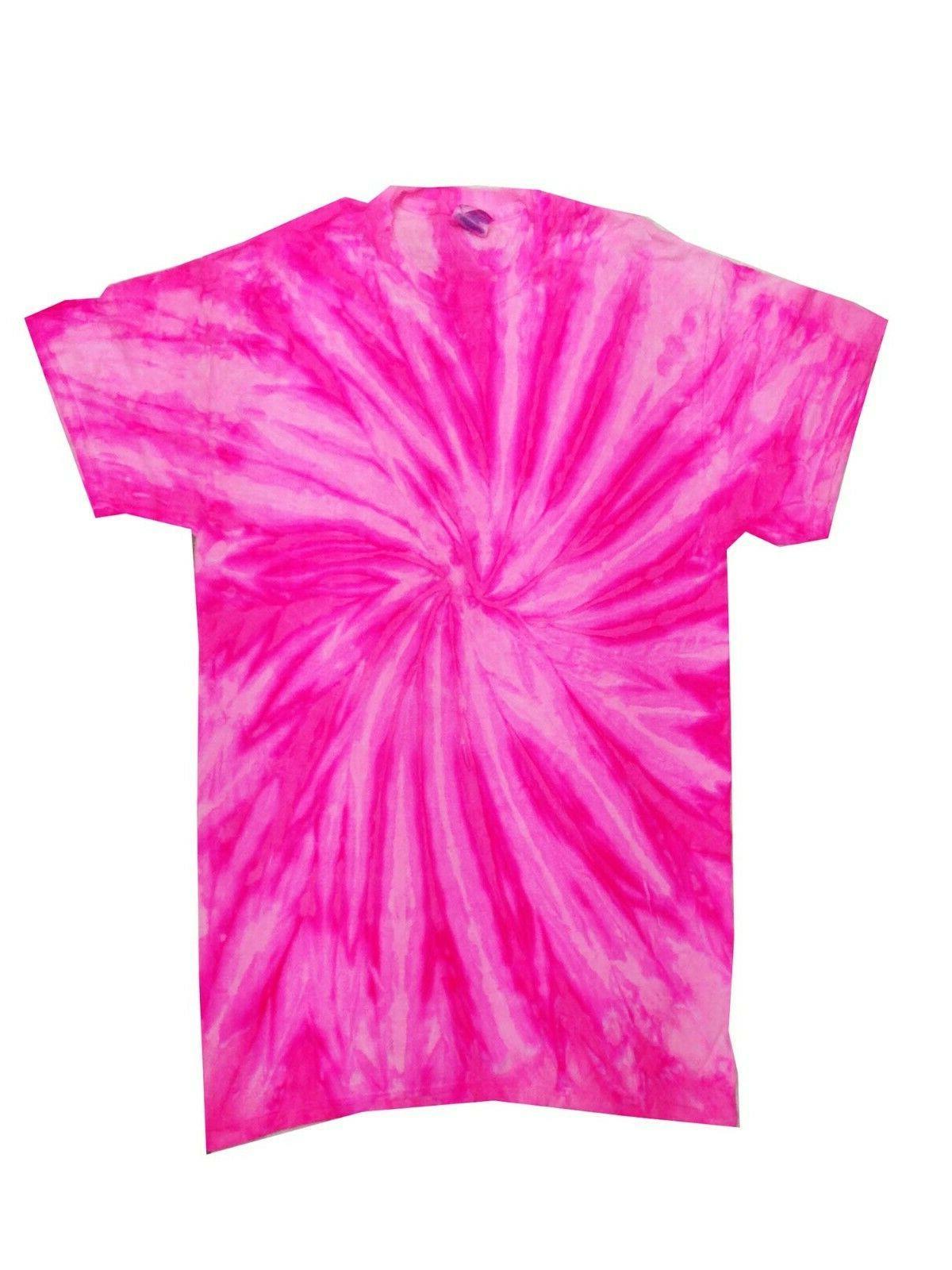 Vibrant Multicolor Tie Dye T-Shirts SM -