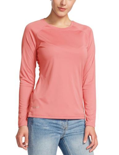 Baleaf Women's UPF 50+ Sun Protection T-Shirt Long Sleeve Ou