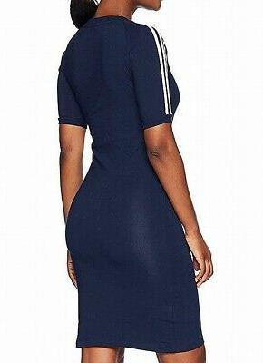 Adidas Dress Blue Size XS Three Stripe Collegiate 345