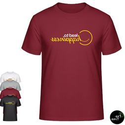 """""""Lead to Happiness""""  SMILE cute T-Shirt for young teen girls"""