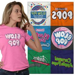 Licensed Tootsie Roll Tees Graphic T-Shirts For Ladies Women