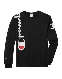 Champion Life® Men's Heritage Long-Sleeve Tee, Over The Sho