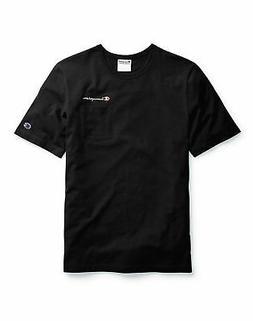Champion Life Mens T-Shirt Pocket Tee Script Logo Short Slee