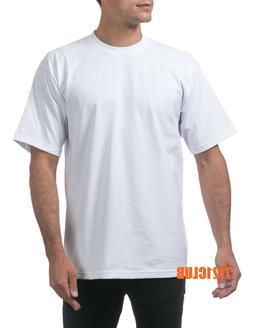 LOT 12 PACK PRO CLUB T SHIRTS PROCLUB MEN'S HEAVYWEIGHT SHOR
