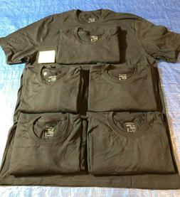 Lot Jockey Mens Black Crew Neck Classic T-Shirts STAYNEW 100