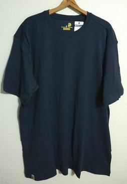 Carhartt Maddock S/S T-Shirt Men's XL Navy Lighter Weight Re