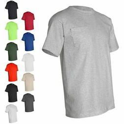 Bayside Made in USA Heavyweight Cotton Short Sleeve T Shirt