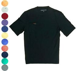 Greg Norman Men's Casual T-Shirt with Chest Pocket