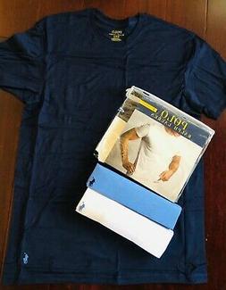Men M Ralph Lauren Polo 3 Pack Classic Crew Neck T Shirt Pac