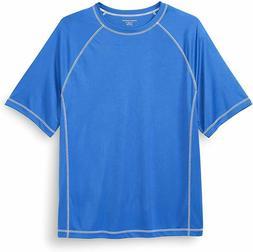Amazon Essentials Men's Big & Tall Short-Sleeve Quick-Dry UP