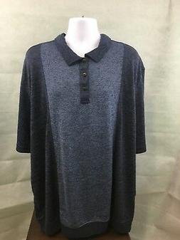 Van Heusen Men's Big & Tall T-shirt,Size 3XLT,Cooling Zone,B