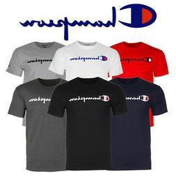 Champion Men's T-Shirt Short Sleeve Cotton Original Classic