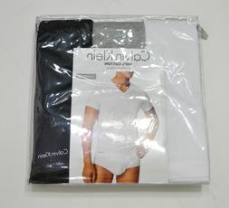 Calvin Klein Men's Classic V Neck Underwear T Shirts 3 pc Pe