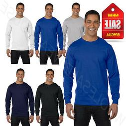 Hanes Men's ComfortSoft Heavyweight 100% Cotton Long Sleeve